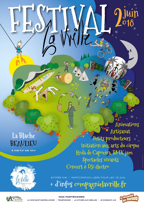 Tanderara au festival la vrille le 2 juin 2018 à Beaulieu (38470)